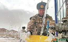 Hàng ngàn tấn hàng chuyển cho binh sĩ TQ ở vùng tranh chấp với Ấn Độ
