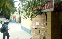 Trụ ATM gần trụ sở công an ở Bình Dương bị trộm đập phá