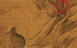 Bức tranh cổ tang thương 800 năm không ai hiểu: Phóng to 10 lần hậu thế mới bất ngờ vì chi tiết khắc trên cây