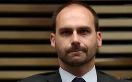 Trung Quốc 'nổi đóa' vì phát biểu của con trai tổng thống Brazil