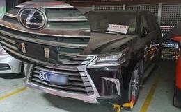 Xe biển xanh 80A bị khóa bánh ở Tân Sơn Nhất: Đại diện chủ xe nói 'biển giả do lái xe tự gắn'