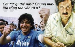 """Lần vào tù nhớ đời của Maradona & ông trùm """"tiền tấn"""" khiến """"Cậu bé vàng"""" xin ngồi tù cả đời"""
