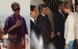 Ảnh bikini hiếm hoi của Công nương Diana gây tranh cãi