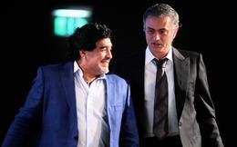 """Mourinho tri ân Maradona, tiết lộ câu """"thần chú"""" giải tỏa mọi lo âu từ Cậu bé vàng"""