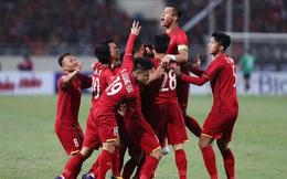 Bảng xếp hạng FIFA: ĐT Việt Nam thăng hạng dù không thi đấu