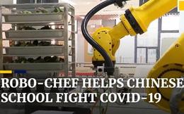 Clip: Cận cảnh robot chế biến 1.000 suất ăn trong 90 phút