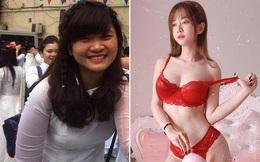Nhan sắc của hot girl nóng bỏng nhất Tiktok Lê Bống thời chưa nổi tiếng