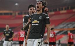 """Cavani, Cavani, Cavani rực sáng đưa Man United """"từ cõi chết trở về"""""""