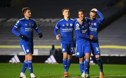 Thắng đậm Leeds United, Leicester City vươn lên vị trí nhì bảng Ngoại hạng Anh