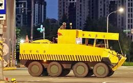 Hé lộ cách Đài Loan ngụy trang xe tăng giữa lòng thành phố