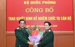 Trao quyết định bổ nhiệm nhân sự cấp cao Bộ Quốc phòng