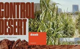 Đất sét nano: Công nghệ đột phá có thể biến sa mạc thành đồng ruộng trong 7 tiếng đồng hồ