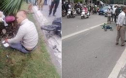 Va chạm với xe máy, tài xế Grab tử vong trên đường BRT