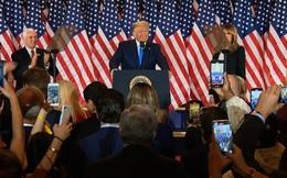 """""""Chúng ta sẽ chiến thắng...ồ xin lỗi, chúng ta đã chiến thắng"""", ông Trump tự tin đã thắng đậm"""