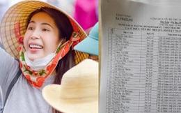 Thủy Tiên bất ngờ công khai luôn danh sách các trường hợp nhận hỗ trợ miền Trung cùng lời xin lỗi và cảm ơn