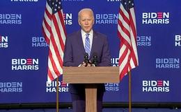 """Wisconsin, Michigan """"nhuộm xanh"""": Ông Biden dẫn 264-214, mọi con mắt hướng về Pennsylvania, ông Trump buộc phải thắng 5 bang"""