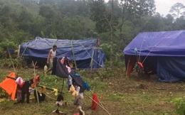 Quảng Bình:Núi xuất hiện vết nứt, dân bản Sắt phải di dời khẩn cấp