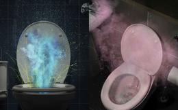 Cảnh báo rùng mình về 'màn pháo hoa' từ toilet: Vì sao nên đậy nắp toilet khi xả nước?