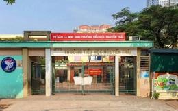 Hơn 100 học sinh Trường Tiểu học Nguyễn Trãi, Hà Đông nghỉ học chưa rõ lý do