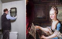 Gương cũ để suốt 40 năm trời trong WC không ai quan tâm hóa ra là báu vật của Hoàng gia Pháp trị giá đến 300 triệu đồng