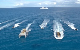 Hải quân Ai Cập và Anh diễn tập đổ bộ tại Địa Trung Hải