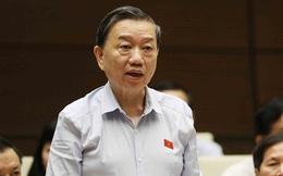 """ĐB hỏi """"cứ lễ Tết công an cơ sở đi thu tiền"""", Bộ trưởng Tô Lâm trả lời: Nếu có cũng chỉ là trường hợp hết sức cá biệt"""