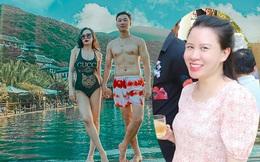 Cận cảnh nhan sắc vợ kém 8 tuổi của MC Thành Trung sau gần 1 năm sinh đôi quý tử