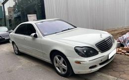 Sau 16 năm, Mercedes-Benz S 500 bán lại với giá rẻ ngang Honda SH