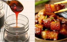 Tự tay làm nước hàng cho món kho, lên màu vừa đẹp lại an toàn