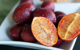 Chanh vỏ đỏ như máu, ruột vàng, hương thơm dịu nhẹ, mua dùng rồi là mê mẩn