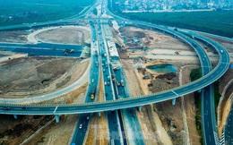 Nhìn gần nút giao 400 tỷ đồng sắp hoàn thiện ở Hà Nội