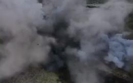 CLIP: Cận cảnh hủy nổ hàng trăm quả đạn pháo, rocket