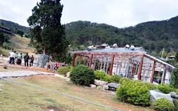 Cưỡng chế hàng loạt nhà xây trái phép trong 'làng biệt thự' ở Lâm Đồng