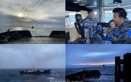 Lữ đoàn Tàu ngầm 189 cứu tàu Nga gặp nạn