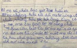 Cô nhóc viết văn nói xấu gia đình khi không cho đi chơi, nhưng nhìn tên 'cha mẹ nuôi' lại khiến dân tình khóc rưng rức
