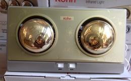Top 5 đèn sưởi nhà tắm giá rẻ siêu tiết kiệm điện, chỉ tốn 100 đồng cho 1 lần tắm