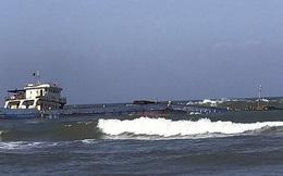 Tàu chở than bị chìm trên biển, 11 người được cứu sống