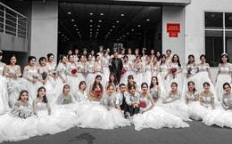 Trường ĐH xuất hiện hàng loạt nữ sinh mặc váy cưới, dân tình rủ nhau lập team đến để được 'phát cô dâu'