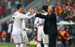 Ai đã biến Ronaldo thành tiền đạo, Sir Alex hay Ancelotti?