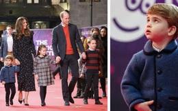 Lần đầu tiên xuất hiện trên thảm đỏ cùng anh chị, Hoàng tử út Louis nhà Công nương Kate đã chiếm trọn spotlight vì vẻ đáng yêu hết mức