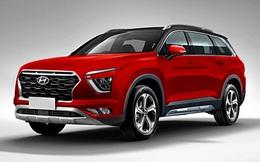 Hé lộ những hình ảnh đầu tiên của chiếc Hyundai Creta 7 chỗ