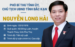 Chân dung Chủ tịch UBND tỉnh Bắc Kạn Nguyễn Long Hải
