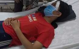 Nữ sinh lớp 7 nghi bị thanh niên đánh vào đầu, mặt rồi đạp xuống mương sau va chạm giao thông