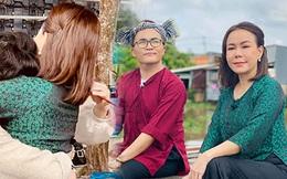 NS Việt Hương sau 1 ngày tiễn đưa tri kỷ NS Chí Tài: Đã trở lại làm việc nhưng lộ rõ đôi mắt sưng húp và nụ cười gượng