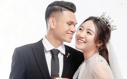 Hé lộ ảnh cưới của Xuân Mạnh và bạn gái: Ngọt ngào đúng nghĩa
