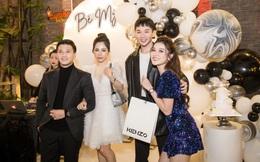 Huỳnh Anh và bạn gái tình tứ trong tiệc sinh nhật Á hậu Huyền My