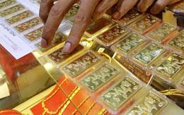 Vàng trong nước lại đắt hơn vàng thế giới gần 4 triệu đồng/lượng