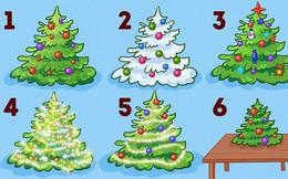 Kiểu trang trí cây thông noel tiết lộ tính cách: Bạn chọn cây thông số mấy để thể hiện mình?