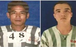 Hai phạm nhân thụ án tội giết người trốn khỏi Trại giam Cây Cầy