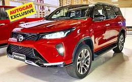 Phiên bản cao cấp của Toyota Fortuner chuẩn bị ra mắt